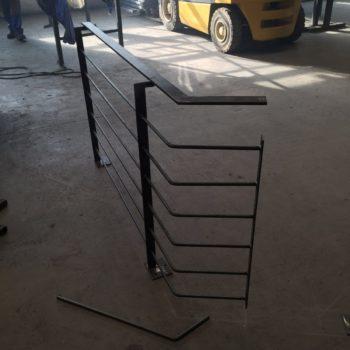 Anfertigung Balkongeländer in der Werkstatt